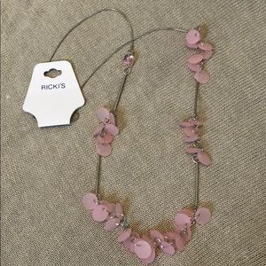 NWT Pink Necklace